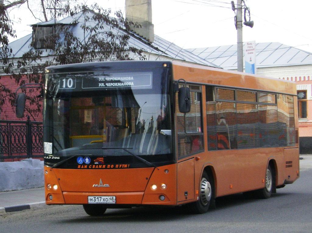 С 1 июля автобус МАЗ 206